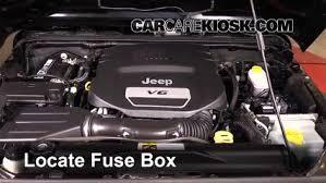 interior fuse box location 2007 2017 jeep wrangler 2012 jeep locate interior fuse box and remove cover