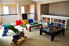 Basement Playroom Ideas for decorating ideas basement family room ...
