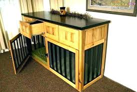 Dog Crate Furniture Diy Dog Crate Furniture Dog Crate End Table