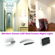 cordless wall sconces remote lamps control led sconce battery powered light medium size of w