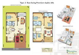 duplex house floor plans hyderabad decorations villa map trendy design ideas 11 east f duplex villa