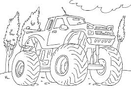 Coloring book by animated surprise eggs! Free Printable Monster Truck Coloring Pages For Kids Monster Truck Coloring Pages Truck Coloring Pages Monster Truck Drawing