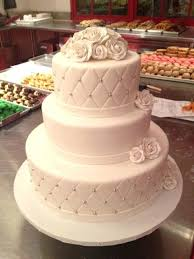 3 Layered Wedding Cake One On One Garden Inspired 3 Tier Wedding