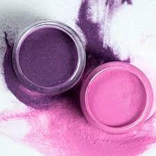 dip acrylic colored acrylic powder