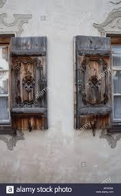 Alte Fensterläden In Oberbayern Garmisch Partenkirchen