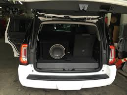 yukon denali full custom system install high end car brought to you by highend car stereo