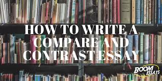 compare and contrast essay how to structure examples topics