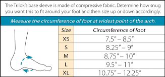 Trilok Ankle Brace Size Chart Small Versatile Ankle Support By Ankle Sprains Plantar