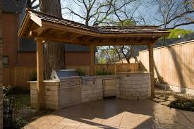 outdoor kitchen roof designs photo 8