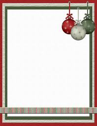 Holiday Templates Printable Christmas Stationery Templates Download Them Or Print