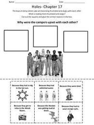 holes activity sheets
