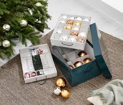 Sie hat eine fachaufteilung für weihnachtskugeln, lichterketten, baumschmuck etc. Weihnachtsdeko Ordnungsbox Online Bestellen Bei Tchibo 368843