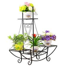 Flower Display Stand For Sale China Hot Sale Gergeously Wrought Iron Plant Pot Stand Planter 22