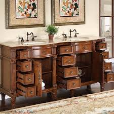 72 inch double sink vanity. silkroad antique double sink vanity cabinet 72 inch k