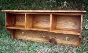 Pine Coat Rack Buy A Custom Made Coat Rack Cubby Shelf For Entryway Made From 15