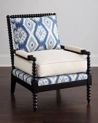 blue and white chair. Blue And White Chair