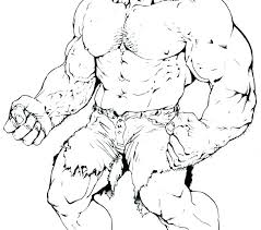 the hulk coloring pages free incredible pictures colouring to print col