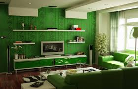 Wall Shelving For Living Room Daccor Your Home In Trendy Green Shades Style Fashionista