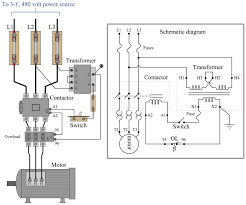 I have a 20 hp hyundai dual voltage 240/480 3 phase motor im wiring up. On Off Electric Motor Control Circuits Discrete Control System Elements Automation Textbook