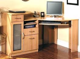 atlas oak hidden home office. Solid Wood Computer Desk With Hutch Small Oak Corner S . Atlas Hidden Home Office