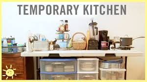 8 Tips To Survive In A Temporary Kitchen Youtube