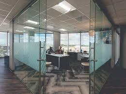 Office desings Wood Lori Ballard Roomsketcher Modern Office Designs That Maintain Privacy