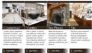 our designers are ready and waiting to help you choose just the right look for your kitchen bathroom fire place or outdoor entertainment area
