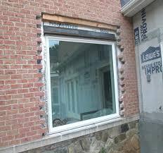 installing windows in brick wall cut out brick for window install northern installing window into existing installing windows in brick wall