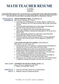 Professional resume samples for teacher. Teacher Resume Samples Writing Guide Resume Genius