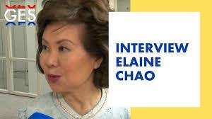 Interview Secretary Elaine Chao