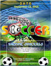 Ms Word Soccer Event Flyer Template Word Excel Templates