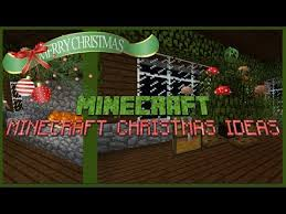MINECRAFT CHRISTMAS IDEAS (HOW TO MAKE A CHRISTMAS TREE IN MINECRAFT) -  YouTube