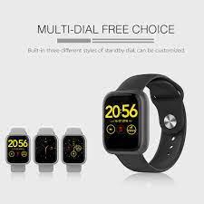 FITUP GT1 akıllı saat IP68 su geçirmez Smartwatch nabız monitörü çoklu spor  Model spor izci adam kadın giyilebilir|Smart Watches
