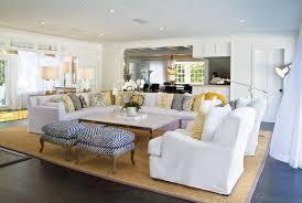 beach house furniture decor. White Slipcovers With Blue And Yellow Accents. Beach House Furniture Decor F