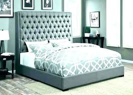 grey headboard bedroom ideas upholstered posh simplicity light