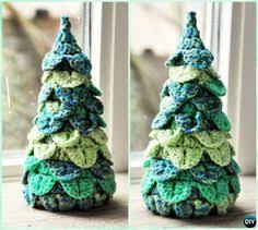 Crochet Christmas Tree Pattern Impressive Crochet Christmas Ornaments Patterns Christmas Pinterest