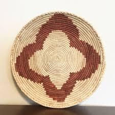 wicker rattan woven basket boho home