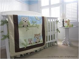 baby crib sheets frightening owl themed crib bedding set green yellow brown baby blue 1500 pixels