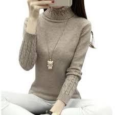 PEONFLY 2018 <b>Autumn Winter</b> Knitted Sweater Women Women ...