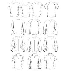 Blank Fashion Design Templates Simple Fashion Sketches Dress Templates Figures Kids Illustrator Flat