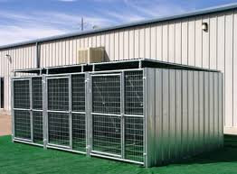 3 run shed row style dog kennel roof shelters 5x10 jpg
