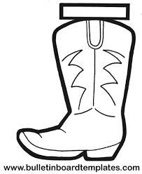 Cowboy Boots Coloring Pages Coloring Pages