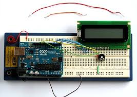 tutorial 12 arduino lcd connection and sketches connect the potentiometer