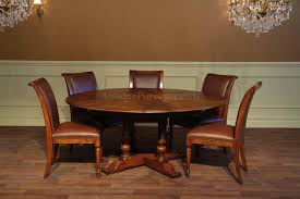 when you pull the chairs out to sit at the table you will sit 7 8 people at 70 inches round
