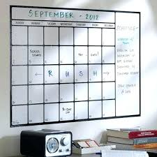 framed dry erase calendar large board prodigious decals awesome wall decal top home design wooden
