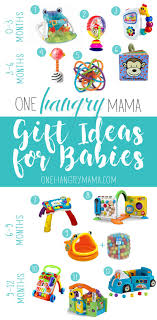 0 12 month old baby gift guide