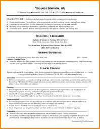 013 Rn Bsn Resume Examples New Grad Nursing Template Samples