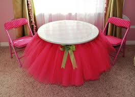 tutu table skirt round table skirts
