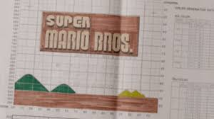 Check Out Early Graph Paper Sketches For Super Mario Bros