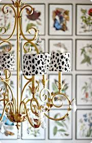 diy home decor give plain white chandelier shades a graphic punch by painting them with